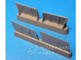 Bf 109F Radiator Flaps (ZVE kit)