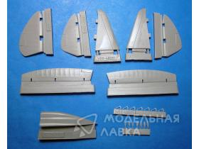 Reggiane Re.2002 Corrected Spine and Control Surfaces (ITA/TAM kit)
