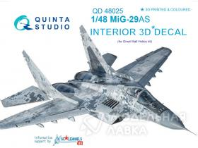 MiG-29AS Interior 3D Decal