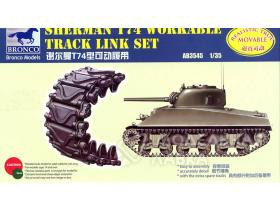 Sherman T74 Workable Track Link Set