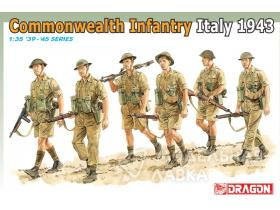 Солдаты Commonwealth Infantry, Italy 1943