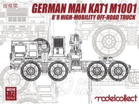 German MAN KAT1M1001 8*8 HIGH-Mobility off-road truck