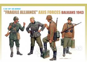 """Fragile Alliance"" Axis Forces (Balkans 1943)"