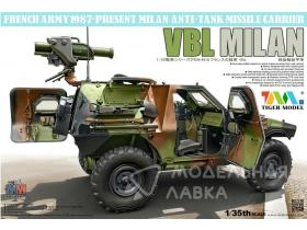 French VBL with Milan Anti-Tank Missile Launcher