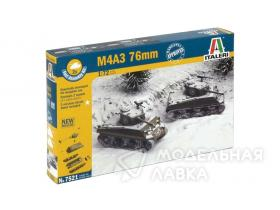 Танк M4A3 Sherman (76mm) Fast Assembly
