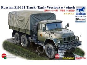 Russian Zil-131V Truck (Early Version) w / winch