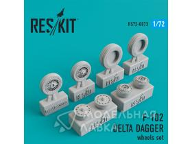 Колеса Convair F-102 Delta Dagger wheels set